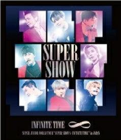 """【送料無料】 Super Junior スーパージュニア / SUPER JUNIOR WORLD TOUR """"SUPER SHOW 8: INFINITE TIME"""" in JAPAN (Blu-ray) 【BLU-RAY DISC】"""