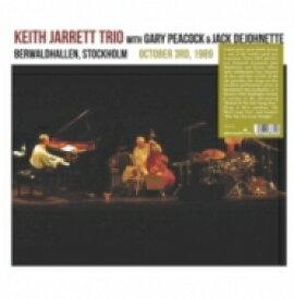 【送料無料】 Keith Jarrett キースジャレット / Berwardhallen. Stockholm October 3rd 1989 (2枚組アナログレコード) 【LP】