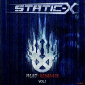Static X スタティックX / Project Regeneration Volume 1 輸入盤 【CD】