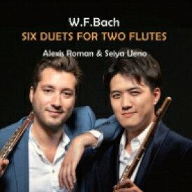 【送料無料】 Bach WF. バッハ / 2本のフルートのための二重奏曲集 上野星矢、アレキシ・ロマン 【CD】
