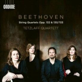 【送料無料】 Beethoven ベートーヴェン / 弦楽四重奏曲第13番(第1楽章〜第5楽章&大フーガ)、第15番 テツラフ・カルテット(2CD) 輸入盤 【CD】