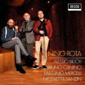【送料無料】 ロータ、ニーノ(1911-1979) / Chamber Works: Bidoli(Vn) Canino(P) Mercelli(Fl) Sanzin(Hp) 輸入盤 【CD】