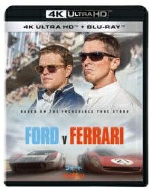 【送料無料】 フォードvsフェラーリ 4K UHD 【BLU-RAY DISC】