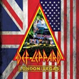 【送料無料】 Def Leppard デフレパード / London To Vegas (Deluxe Box) (2Blu-ray+4CD) 【BLU-RAY DISC】