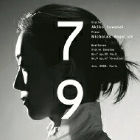 Beethoven ベートーヴェン / ヴァイオリン・ソナタ第9番『クロイツェル』、第7番 諏訪内晶子、ニコラ・アンゲリッシュ 【Hi Quality CD】