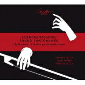 【送料無料】 Boccherini ボッケリーニ / 6つのチェロ・ソナタ集 ドミートリー・ディヒティアル、トルステン・ブライヒ、パヴェル・セルヴィン(2CD) 輸入盤 【CD】