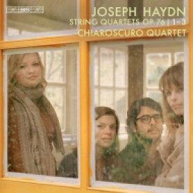 【送料無料】 Haydn ハイドン / 弦楽四重奏曲集 Op.76 1-3 キアロスクーロ四重奏団(日本語解説付) 【SACD】