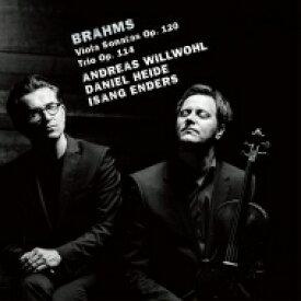 【送料無料】 Brahms ブラームス / ヴィオラ・ソナタ第1番、第2番、三重奏曲 アンドレアス・ヴィルヴォール、ダニエル・ハイデ、イサン・エンダース(日本語解説付) 【CD】