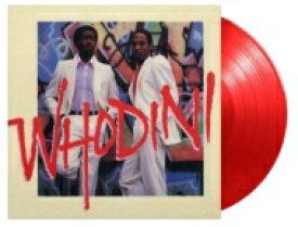 Whodini / Whodini (レッド・ヴァイナル仕様 / 180グラム重量盤レコード / Music On Vinyl) 【LP】