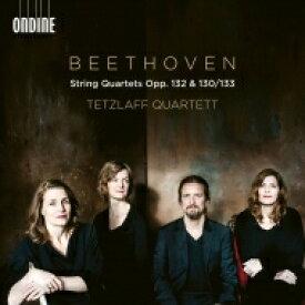 【送料無料】 Beethoven ベートーヴェン / 弦楽四重奏曲第13番(第1楽章〜第5楽章&大フーガ)、第15番 テツラフ・カルテット(2CD)(日本語解説付) 【CD】
