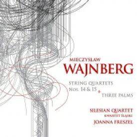 【送料無料】 Vainberg バインベルグ / 弦楽四重奏曲第14番、第15番、『3本の椰子の木』 シレジアン弦楽四重奏団、ヨアンナ・フレシェル 輸入盤 【CD】