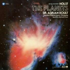 Holst ホルスト / 惑星 エイドリアン・ボールト ロンドン・フィルハーモニー管弦楽団 (180グラム重量盤レコード) 【LP】