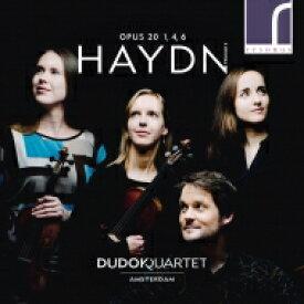 【送料無料】 Haydn ハイドン / 弦楽四重奏曲集 Op.20 第2集 アムステルダム・デュドック四重奏団 輸入盤 【CD】