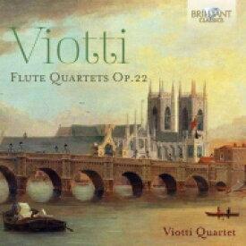 ヴィオッティ(1755-1824) / フルート四重奏曲集 ヴィオッティ四重奏団 輸入盤 【CD】