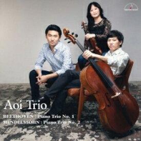 【送料無料】 Beethoven ベートーヴェン / Piano Trio, 1, : 葵トリオ +mendelssohn: Piano Trio, 2, 【CD】