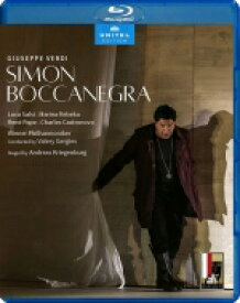 Verdi ベルディ / 『シモン・ボッカネグラ』全曲 クリーゲンブルク演出、ゲルギエフ&ウィーン・フィル、サルシ、パーペ、他(2019 ステレオ)(日本語字幕付) 【BLU-RAY DISC】