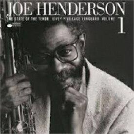 【送料無料】 Joe Henderson ジョーヘンダーソン / State Of The Tenor: Live At The Village Vanguard. Vol. 1 (180グラム重量盤レコード / Tone Poets) 【LP】