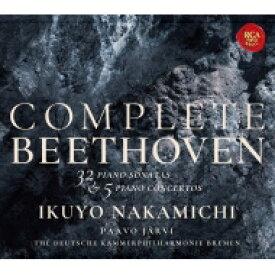 【送料無料】 Beethoven ベートーヴェン / ピアノ・ソナタ全集、ピアノ協奏曲全集 仲道郁代、パーヴォ・ヤルヴィ&ドイツ・カンマーフィル(12CD+3SACD+2DVD) 【BLU-SPEC CD 2】