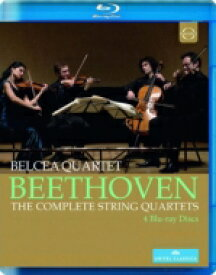 Beethoven ベートーヴェン / 弦楽四重奏曲全集 ベルチャ四重奏団(2012年ウィーン・ライヴ)(4BD) 【BLU-RAY DISC】