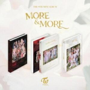 TWICE / 9th Mini Album: MORE...