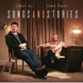 【送料無料】 Callum Au / Claire Martin / Songs And Stories 【LP】