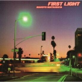 松下誠 / First Light (2ndプレス / アナログレコード) 【LP】