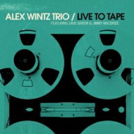 Alex Wintz / Live To Tape 【LP】