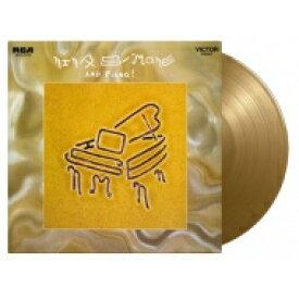 Nina Simone ニーナシモン / And Piano (カラーヴァイナル仕様 / 180グラム重量盤レコード / Music On Vinyl) 【LP】