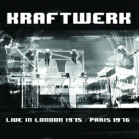 【送料無料】 Kraftwerk クラフトワーク / Live In London 1975 / Paris 1976 (2CD) 輸入盤 【CD】