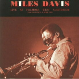 Miles Davis マイルスデイビス / Live At Fillmore West 1970 (2枚組アナログレコード) 【LP】
