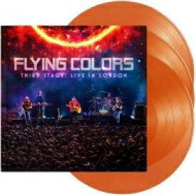 【送料無料】 Flying Colors / Third Stage: Live In London (180g)(Orange Vinyl) 【LP】