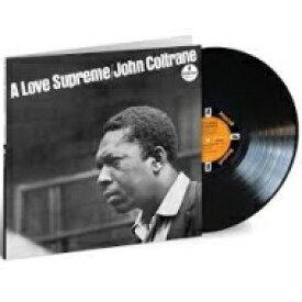 【送料無料】 John Coltrane ジョンコルトレーン / Love Supreme (180グラム重量盤レコード / Acoustic Sounds) 【LP】