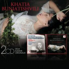 【送料無料】 Rachmaninov ラフマニノフ / ラフマニノフ:ピアノ協奏曲第2番、第3番、シューベルト:ピアノ・ソナタ第21番、4つの即興曲、他 カティア・ブニアティシヴィリ、P.ヤルヴィ&チェコ・フィル(2CD) 輸入盤 【CD】