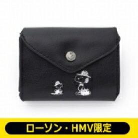 SNOOPY 三つ折り財布 BOOK BLACK【ローソン・HMV限定】 / ブランドムック 【ムック】