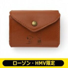 SNOOPY 三つ折り財布 BOOK BROWN【ローソン・HMV限定】 / ブランドムック 【ムック】