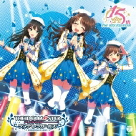THE IDOLM@STER FIVE STARS!!!!! / THE IDOLM@STERシリーズ15周年記念曲「なんどでも笑おう」 【シンデレラガールズ盤】 【CD】