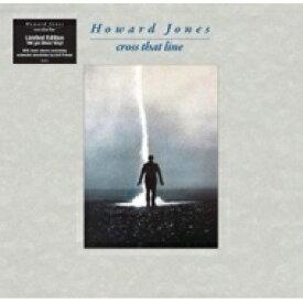 【送料無料】 Howard Jones ハワードジョーンズ / Cross That Line (シルヴァーヴァイナル仕様 / アナログレコード) 【LP】