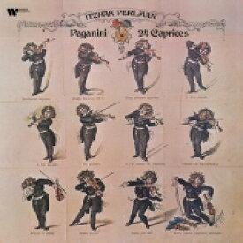 Paganini パガニーニ / 24のカプリース イツァーク・パールマン (2枚組 / 180グラム重量盤レコード) 【LP】