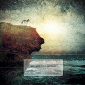 【送料無料】 We Are The Ocean / Cutting Our Teeth (Half & Half Red & Crystal Clear Vinyl) 【LP】