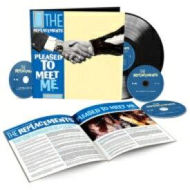 【送料無料】 Replacements リプレイスメンツ / Pleased To Meet Me (Deluxe) (3CD+LP) 輸入盤 【CD】