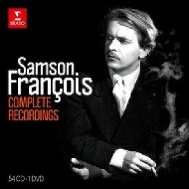 【送料無料】 サンソン・フランソワ/コンプリート・レコーディングズ(54CD+DVD) 輸入盤 【CD】