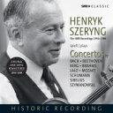 【送料無料】 ヘンリク・シェリング、SWR協奏曲録音集 1956〜1984 バッハ、ベートーヴェン、ベルク、ブラームス、ラ…