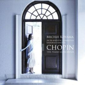 Chopin ショパン / ピアノ協奏曲第1番、第2番 小山実稚恵、ヤーチェク・カスプシーク&シンフォニア・ヴァルソヴィア 【CD】