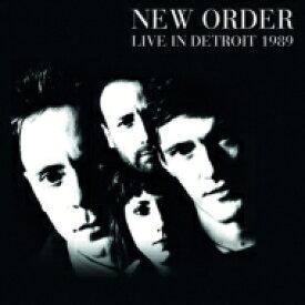 【送料無料】 New Order ニューオーダー / Detroit 1989 輸入盤 【CD】