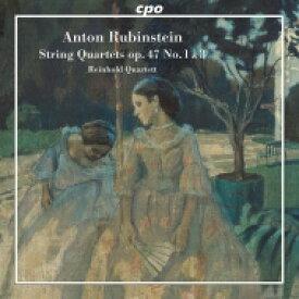 ルビンシテイン、アントン(1829-1894) / 弦楽四重奏曲第4番、第6番 ラインホルト四重奏団 輸入盤 【CD】