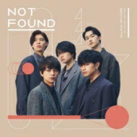 Sexy Zone / NOT FOUND 【CD Maxi】