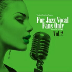 For Jazz Vocal Fans Only Vol.2 (アナログレコード / 寺島レコード) 【LP】
