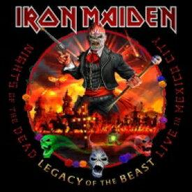 【送料無料】 IRON MAIDEN アイアンメイデン / Nights Of The Dead, Legacy Of The Beast: Live In Mexico City 【CD】