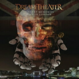 【送料無料】 Dream Theater ドリームシアター / Distant Memories - Live In London: (Special Edition 3CD+2Blu-ray Digipak In Slipcase) 輸入盤 【CD】