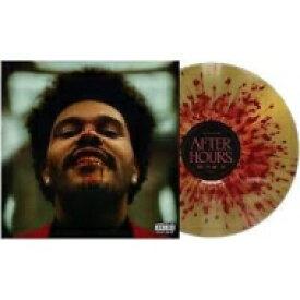 【送料無料】 The Weeknd / After Hours (レッド・sプラッターゴールド・ヴァイナル仕様 / 2枚組アナログレコード) 【LP】